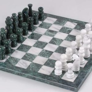 The Marble Complete Chess Set
