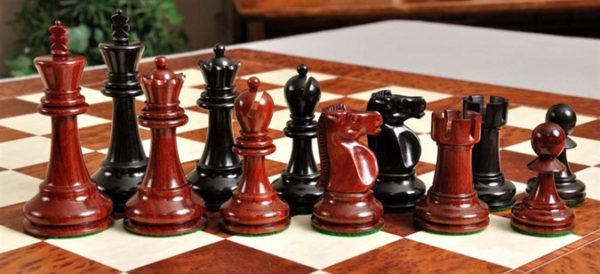 The Reykjavik II Series Prestige Chess Set