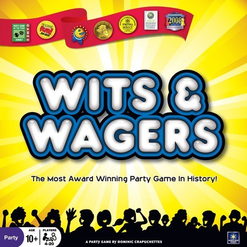 Wits and Wagers Trivia Game