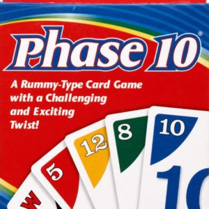 PHASE 10 Rummy Type Card Game