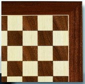 Traditional Sycamore Chess Board