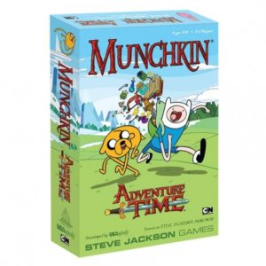 Munchkin Adventure Time Treasure and Encounters