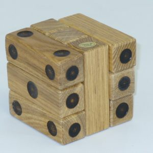 The Wooden Dice Puzzle Dice