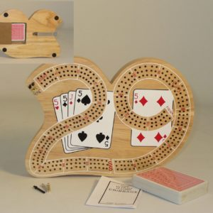 Big 29 Cribbage Triple-Tracked