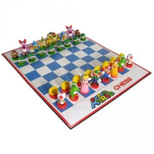 Super Mario Plastic Chess Set
