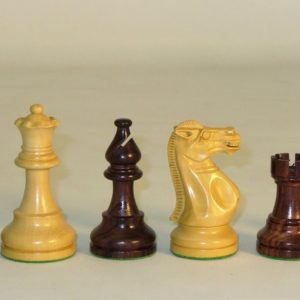 Large Rosewood American Emperor Chessmen
