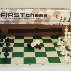 First Chess Tournament Men and Roll-Mat