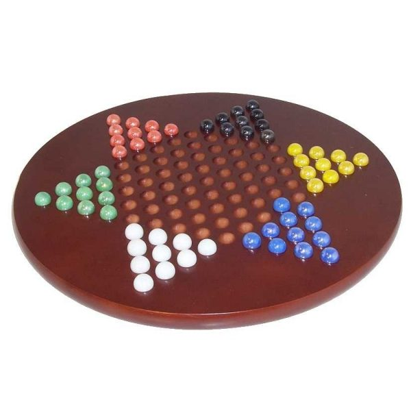 Large Chinese Checkers Set Strategy Game