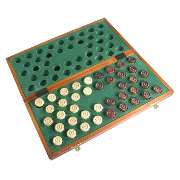 "16"" European Folding Checker Set (100 Field)"