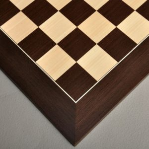 Wenge and Maple Standard Traditional Chessboard