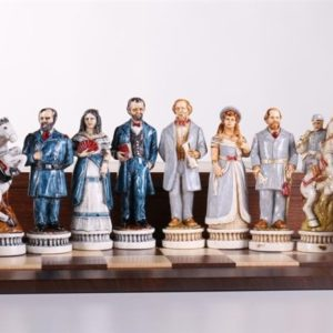 Battle of Gettysburg Civil War Chess Pieces