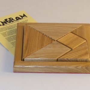 Tangram Ancient Wood Puzzle