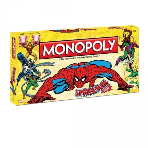 Spiderman Monopoly Collector's Edition