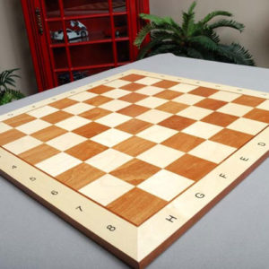 Maple and Mahogany Wooden Tournament Board