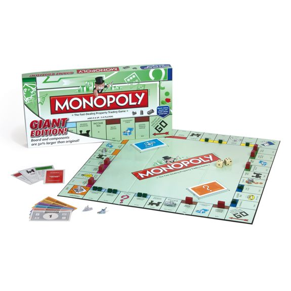 GIANT Monopoly Board Game