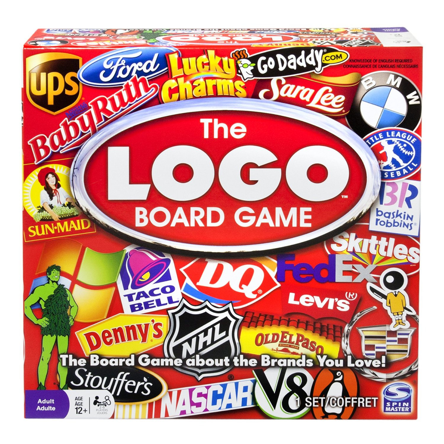 Logo Board Game Fun and Simple Question Game