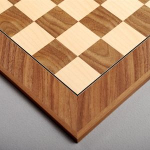Walnut and Maple Standard Traditional Chessboard