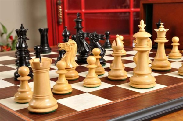 The Royale Series tournament-sized Chess Set
