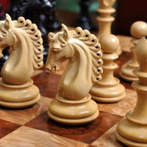 "The Waterford Series Artisan Chess Set - 4.4"" King"