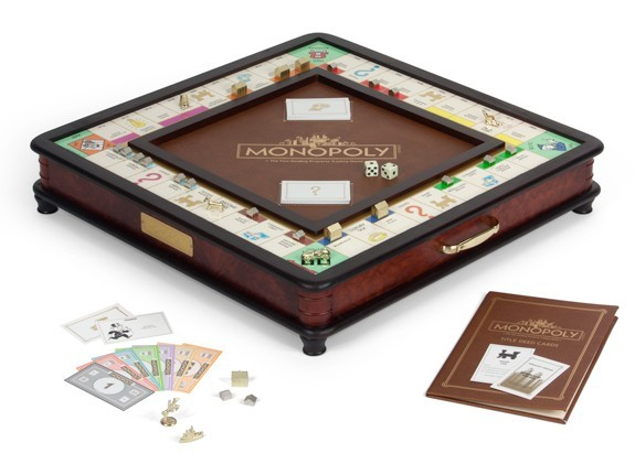 Monopoly Wooden Luxury Edition