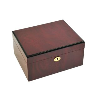Bubinga Pattern Attractive Chess Box