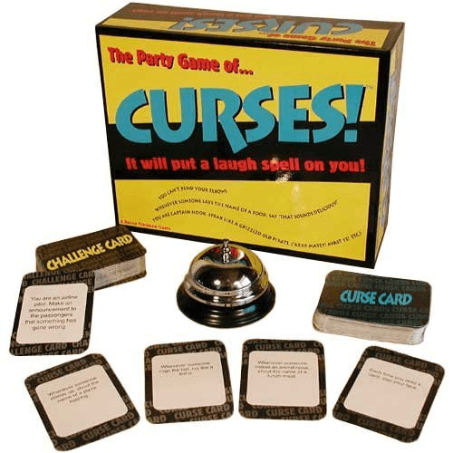 Curses Party Game Crazy Spells