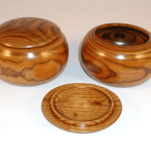Wood Go Bowls for Go Game Stones