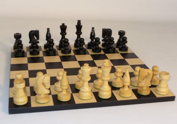 Black Russian Chess Set Combo