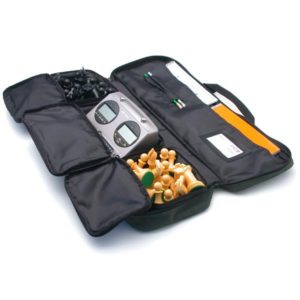 Durable Carry-All Tournament Chess Bag - Black