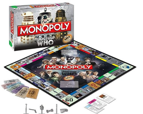 Dr. Who Monopoly: Collector's Edition