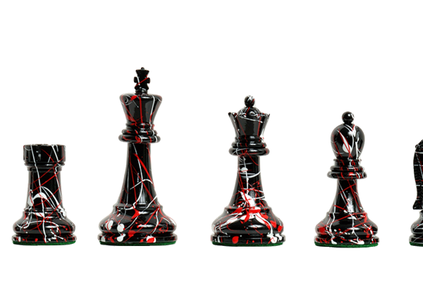The Fischer Spassky Artisan Series Chess Pieces