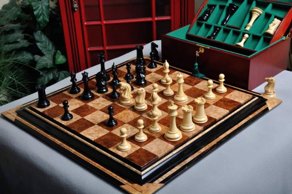 The Supreme Collector Series Luxury Chess Pieces – 4.4″ King