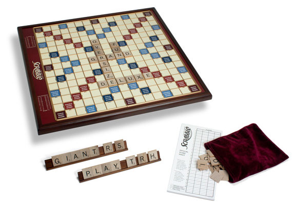 Giant Deluxe Wood Scrabble