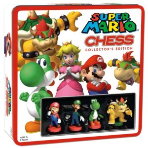 Super Mario Chess Set Collector's Edition