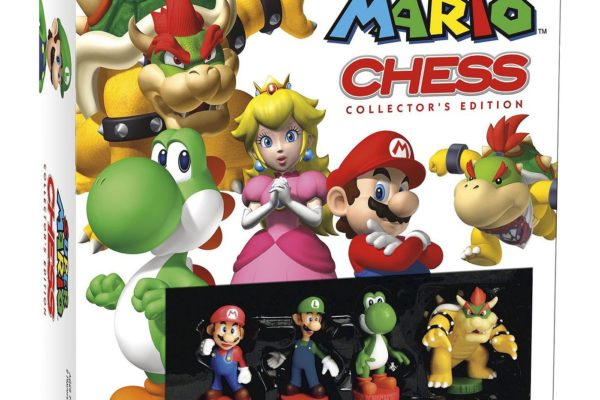 Super Mario Chess Set Collection