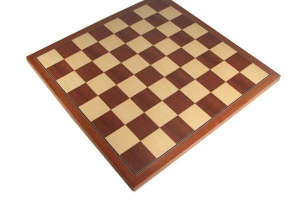 18″ European Mahogany Chess Board