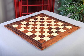 Santos Palisander Chess Board Satin