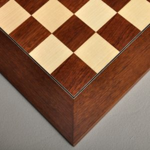 Montgoy Palisander and Bird's Eye Chess Board