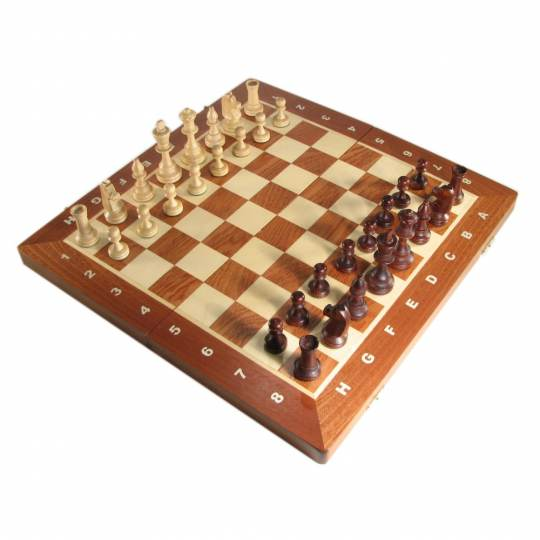 "16"" Tournament Folding Chess Set"
