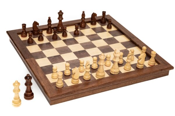 Deluxe Cambor Combo Chess Set