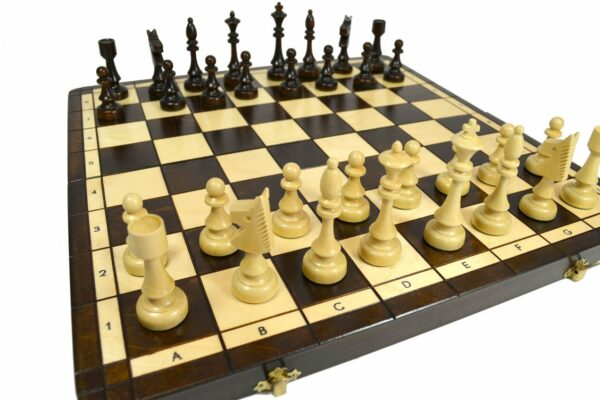Basic Wooden Chess Set Classic Design