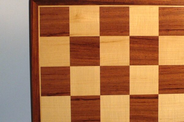 Padauk and Maple Veneer Chess Board