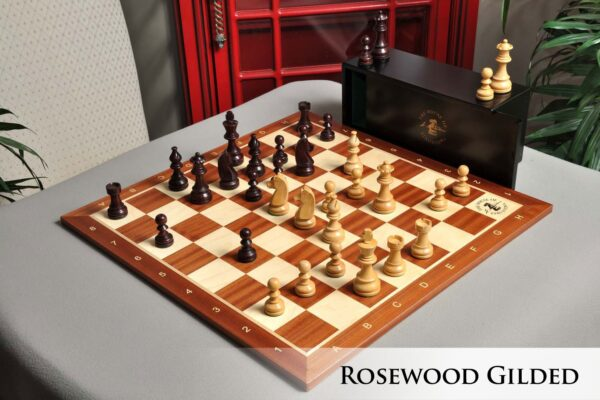 The Championship Series Chess Set, Box, & Board