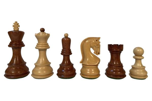 ZAGREB CHESS PIECES – ACACIA/BOXWOOD