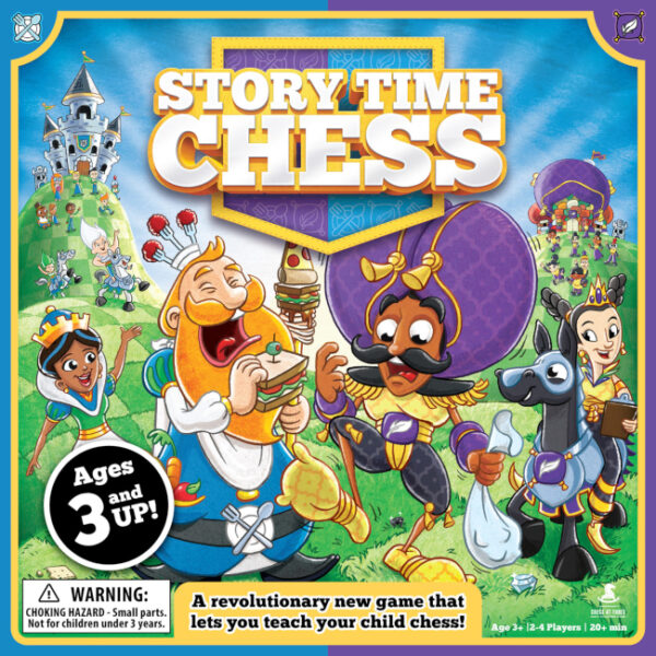 Story Time Chess Story-Based Curriculum and Game